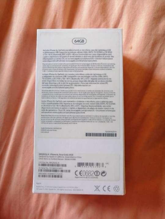 Imagen producto Iphone 6S Rosa 64GB 5