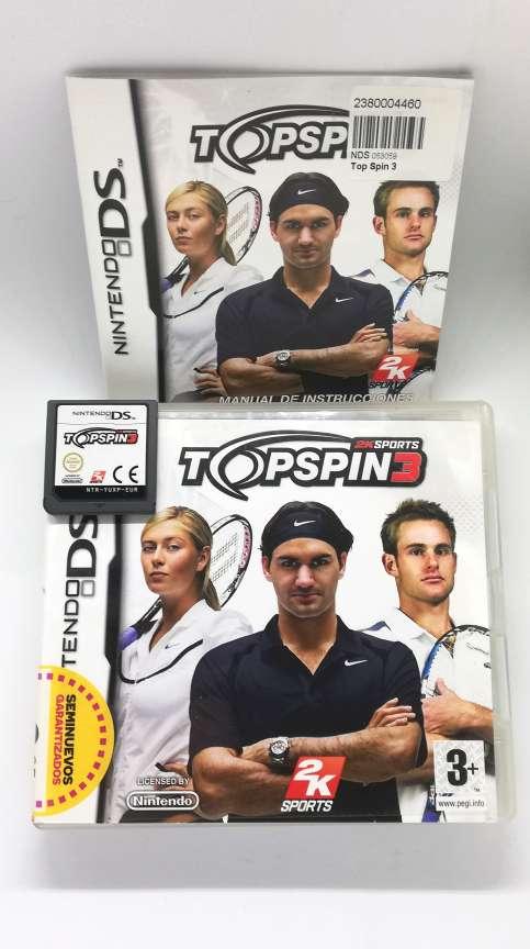 Imagen Topspin 3 Para Nintendo DS