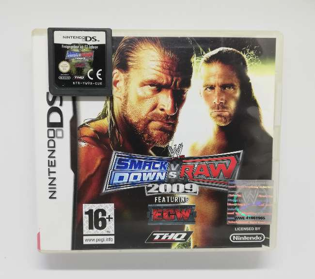 Imagen WWE SmackDown Vs. Raw 2009 Para Nintendo DS