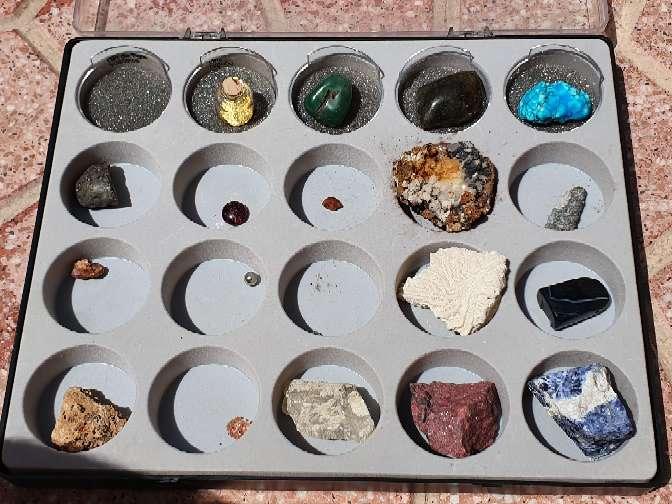 Imagen producto Colección de minerales 7