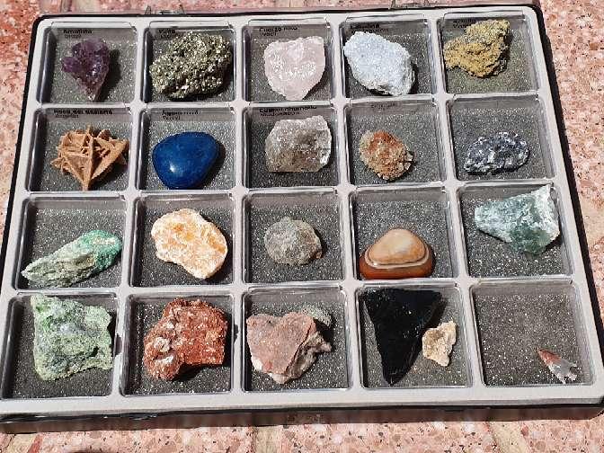 Imagen producto Colección de minerales 5