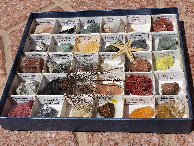 Imagen Colección de minerales