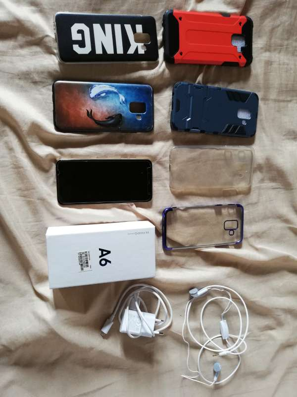 Imagen producto Se vende Samsung galaxy a6  5