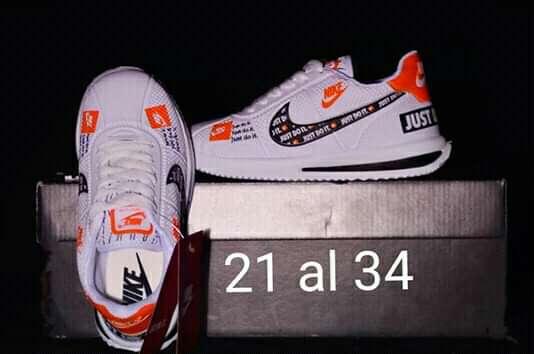 Imagen zapatillas del 21 al 34y del 35 al 44 $850