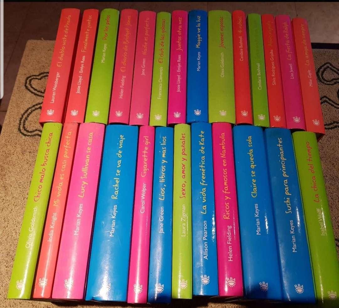 Imagen colección de novelas