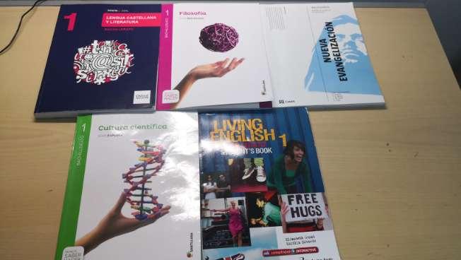 Imagen Libros 1° Bachillerato