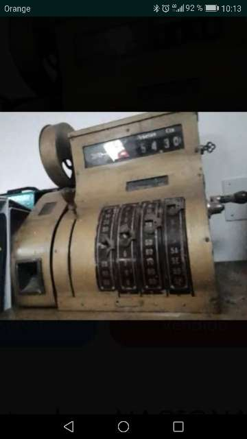 Imagen máquina registradora Nacional