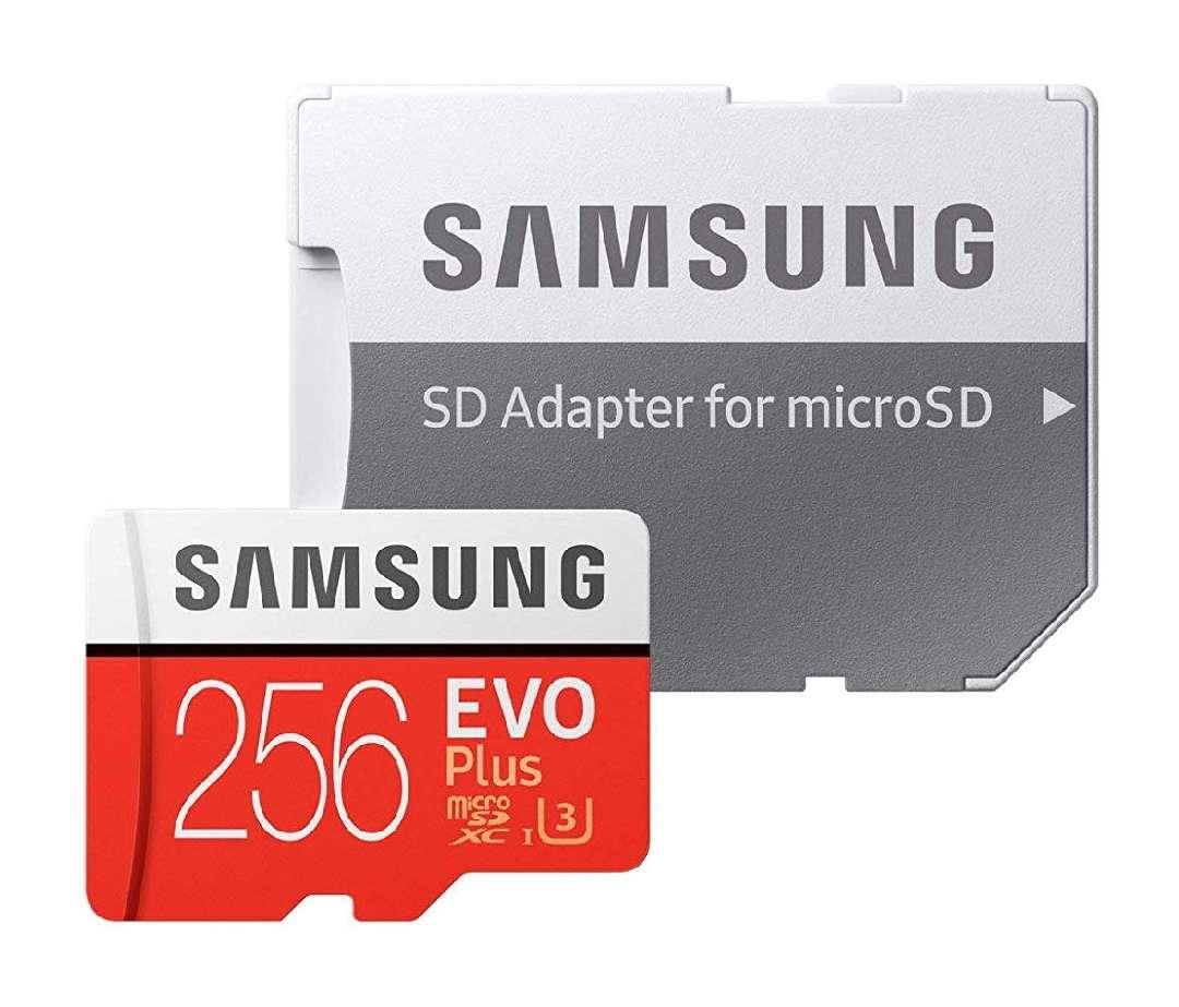 Imagen SAMSUNG EVO Plus 256GB Con Adaptador