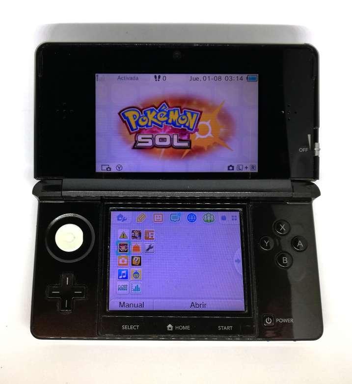 Imagen Nintendo 3DS Negra + Cargador