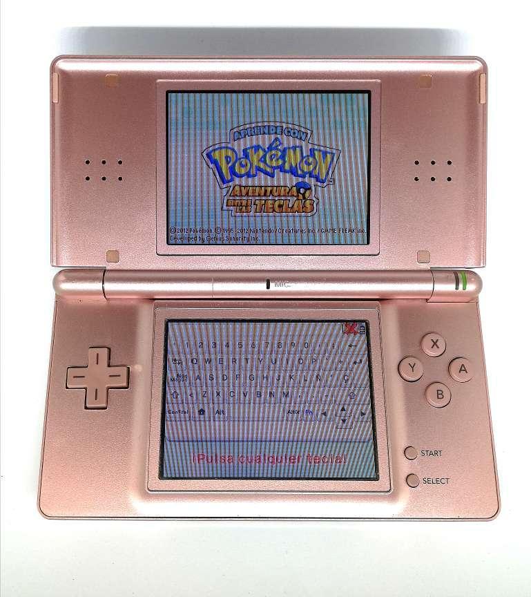 Imagen Nintendo DS Lite Rosa Metálico + Cargador