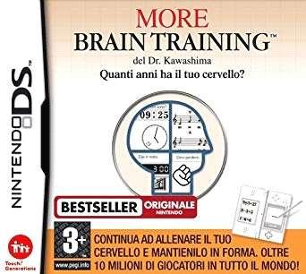 Imagen More Brain Training Para Nintendo DS