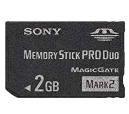 Imagen Tarjeta de memoria para PSP 2GB