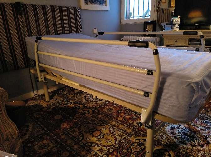 Imagen cama ortopédica electrica 80/180 colchón nuevo