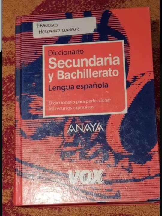 Imagen dos diccionarios VOX