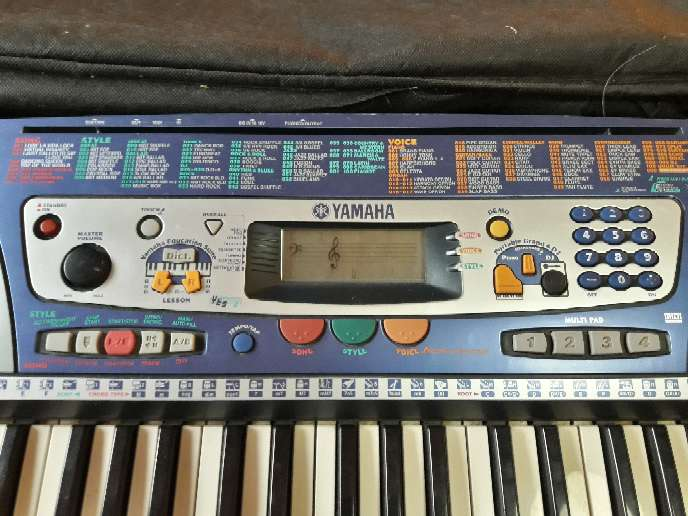 Imagen producto Piano Teclado Yamaha PSR-260  2
