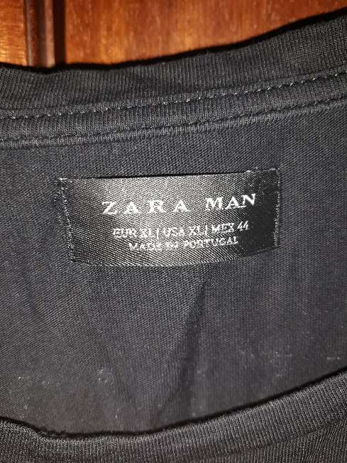 Imagen producto Camiseta XL Zara Man  3