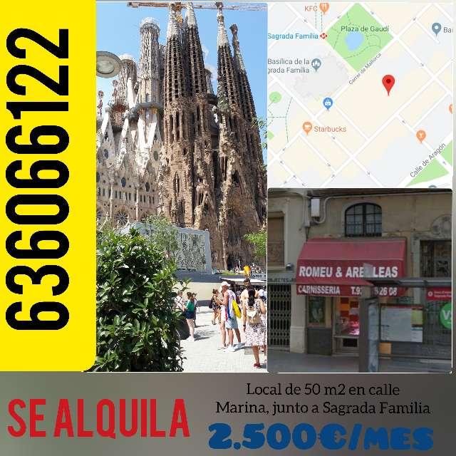 Imagen Se alquila local junto a Sagrada Familia