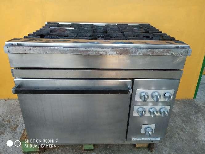 Imagen cocina industrial gas butano propano