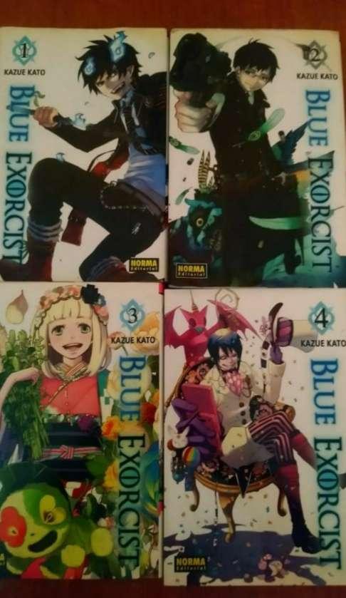 Imagen Mangas Blue Exorcist