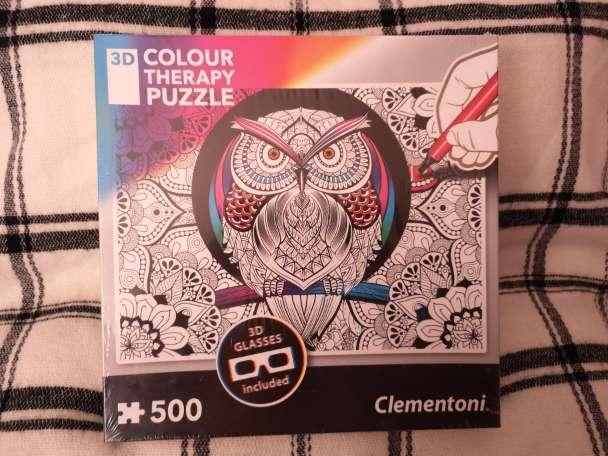Imagen producto Colour therapy puzzle. 3D. 1