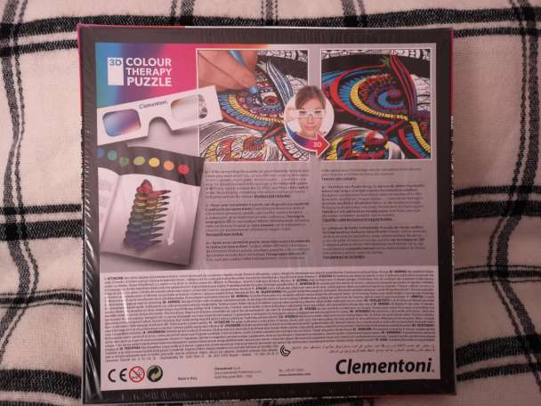 Imagen producto Colour therapy puzzle. 3D. 2