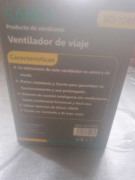 Imagen producto Ventilador 2