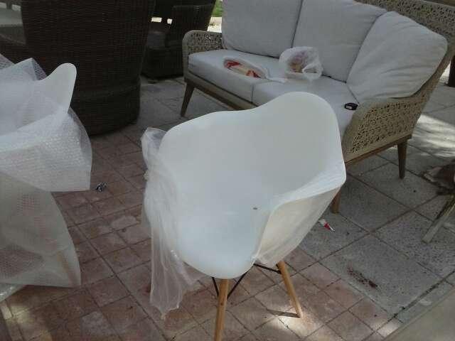 Imagen sillon blanco
