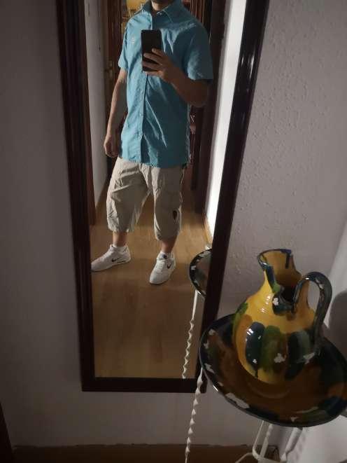 Imagen Camisa de lino unisex Springfield