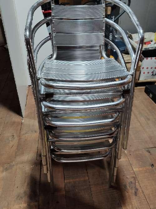 Imagen producto Sillas de aluminio de bar exterior 2