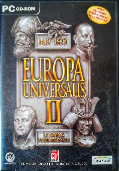 Imagen Juego pc original Europa Universalis II