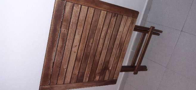 Imagen producto Mesa madera plegable  2