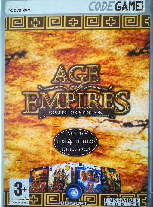 Imagen Juego pc original Age of empires Collector's Edition.