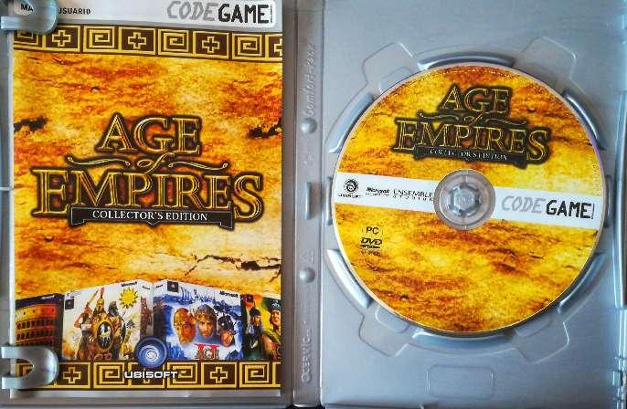 Imagen producto Juego pc original Age of empires Collector's Edition.  2