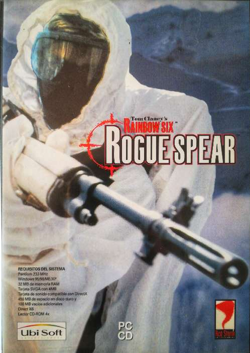Imagen Juego pc original Rainbow six Rogue Spear.