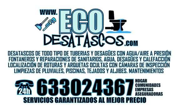 Imagen producto Desatascos y limpiezas de tuberias y desagüe en Zaragoza 2