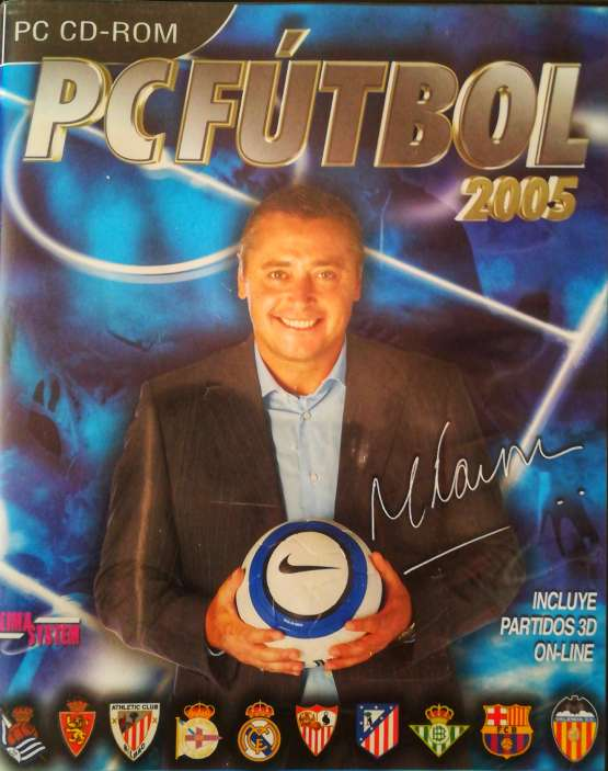Imagen Juego pc original pc fútbol 2005