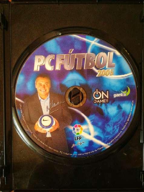 Imagen producto Juego pc original pc fútbol 2005  2