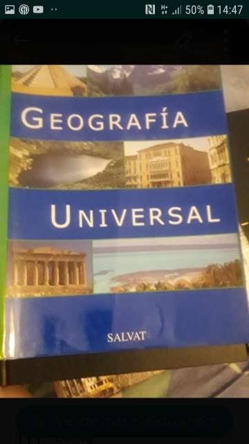 Imagen geografía universal