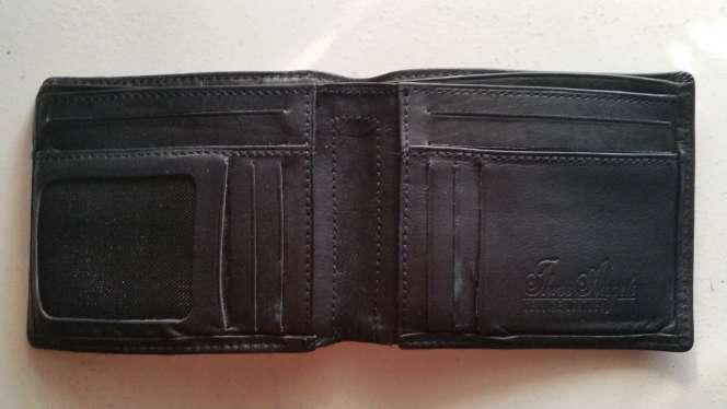 Imagen producto Cartera billetera monedero Three Angels Genuine Leather 2