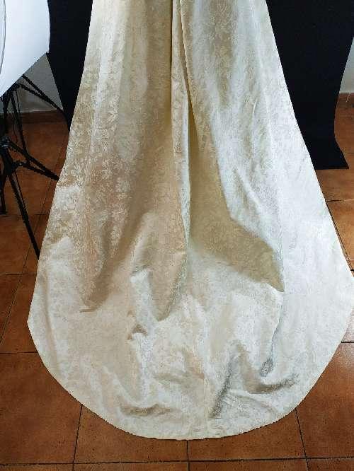 Imagen producto Vestido novia cuello barco 5