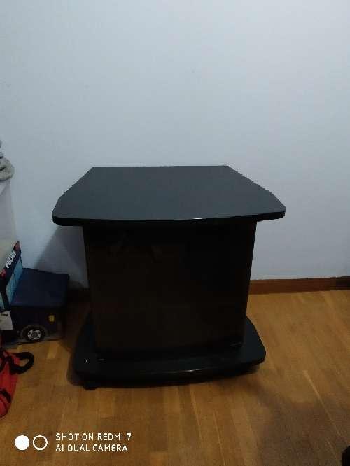 Imagen mueble para tv acristalado