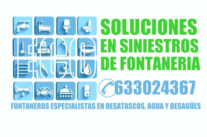 Imagen producto Atascos de fregadero, wc, lavabo, ducha, lavadora, lavavajillas, desagües, sifón. Solución económica garantizada 4