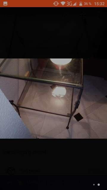 Imagen mesa cristal