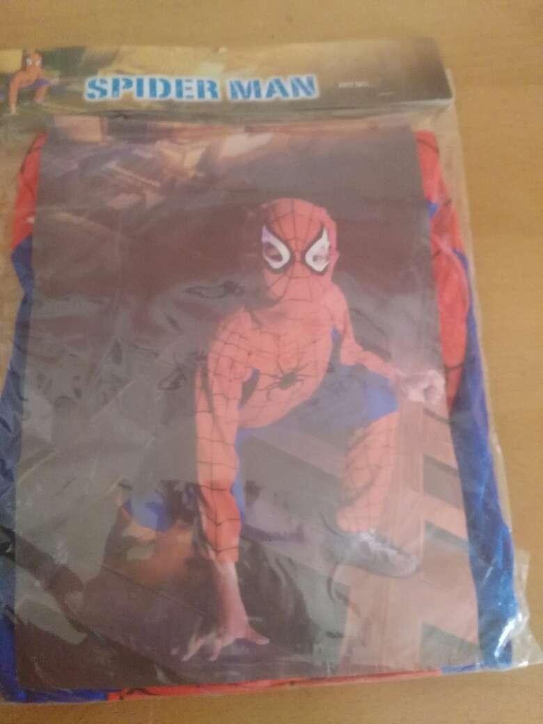 Imagen disfraz  de spiderman