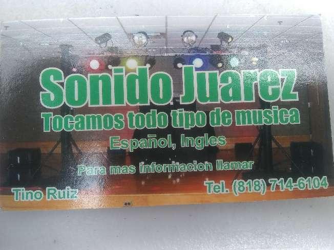 Imagen dj Juárez para cualquier ocasión