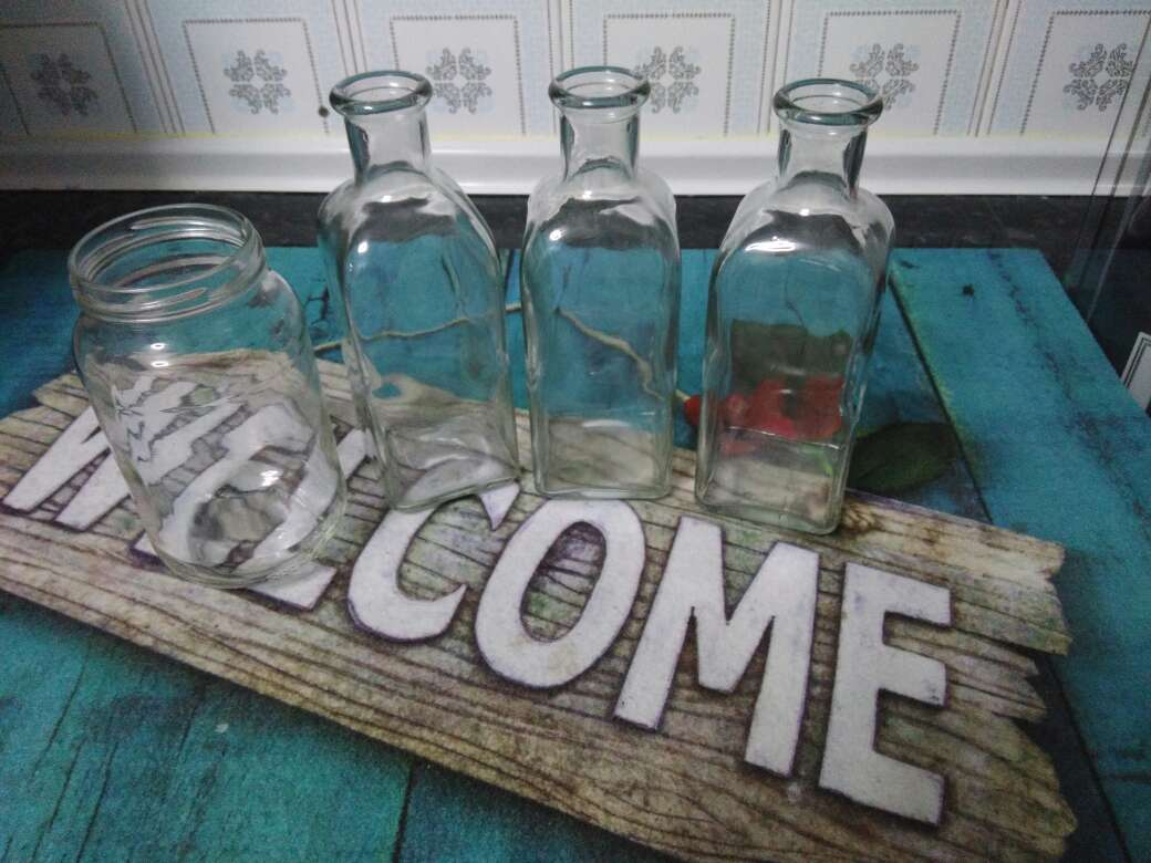Imagen Botellas cristal