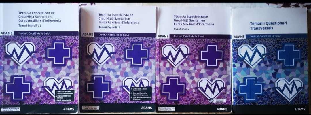 Imagen Libros TCAE Oposiciones 2018