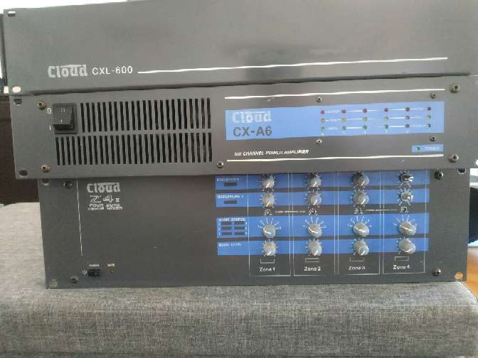 Imagen amplificador con altavoz marca bose