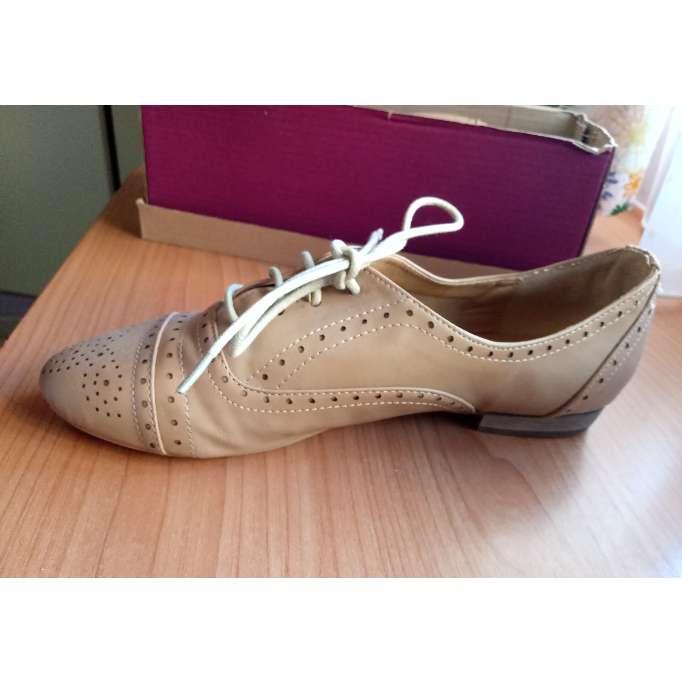 Imagen producto Zapatos beige drapeados  3