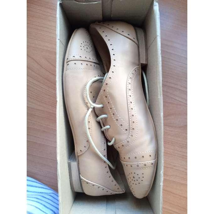 Imagen Zapatos beige drapeados